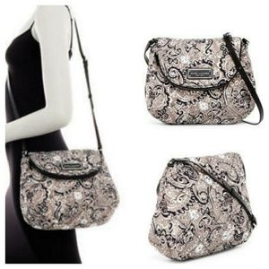 Marc Jacobs Quilted Paisley Crossbody Shoulder Bag